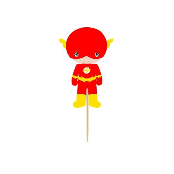 Enfeite Para Cupcake Flash