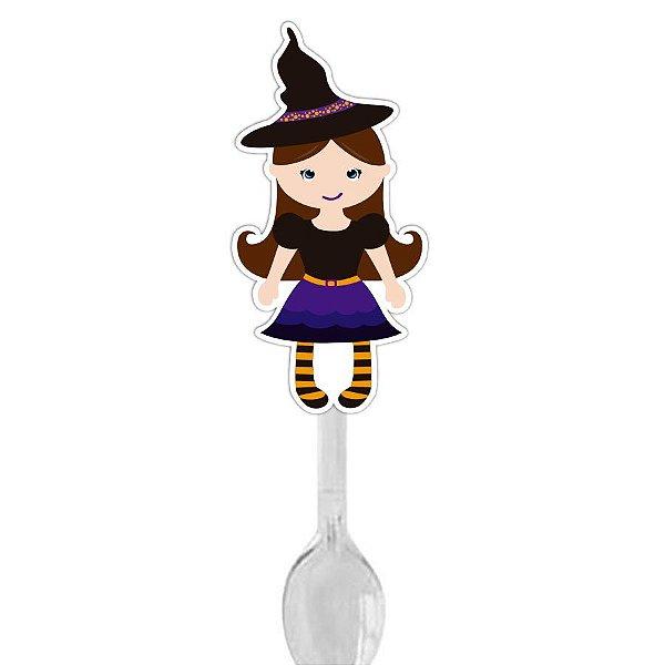 Colher para Brigadeiro Bruxa Halloween - 12 und