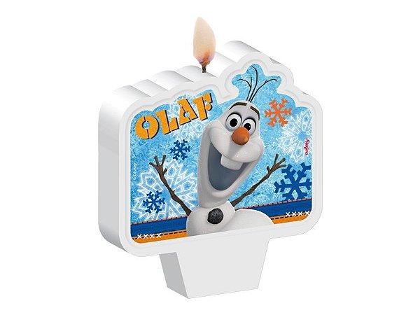 Vela de  Aniversário - Olaf