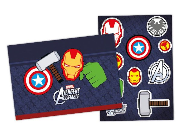 Kit Decorativo - Os Vingadores ícones