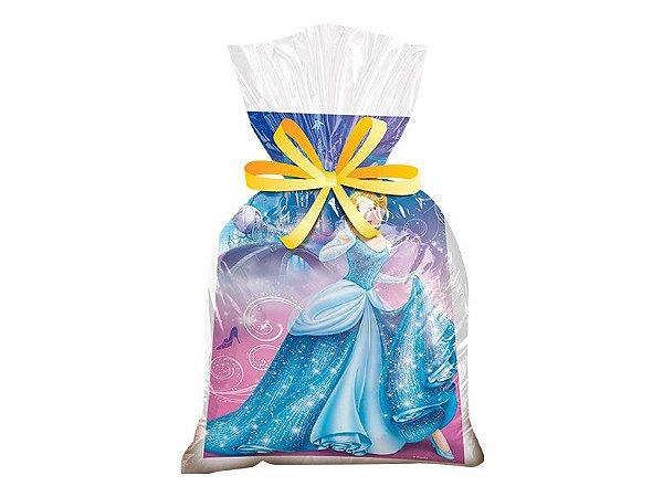Kit Sacola Surpresa Plástica - Cinderela - 02 pacotes