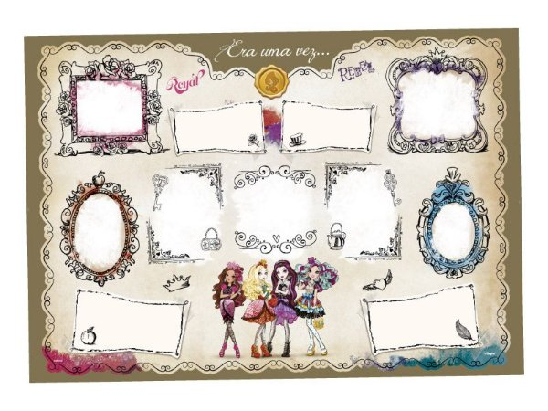 Mural de Recados - Ever After High