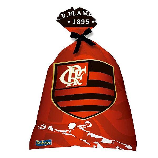 Sacola Surpresa Plástica - Flamengo - 08 unidades