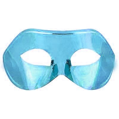 Máscara Veneziana Simples - Azul Claro