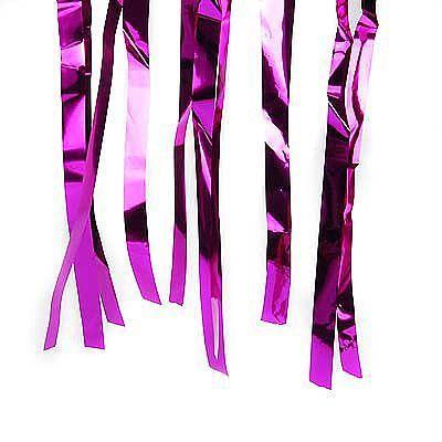 Varal de Fitas Metalizadas Pink