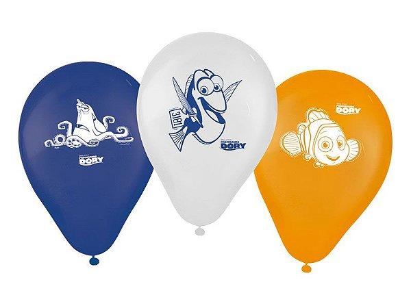 Balão decorativo Procurando Dory -25 unidades