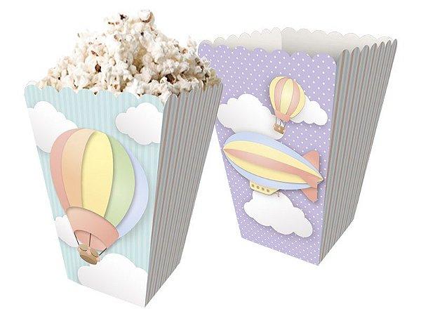 Kit Mini Caixa de Pipoca Nuvem - 02 pacotes