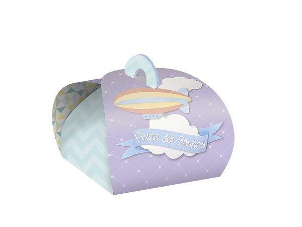 Kit Caixa para Doce Bem Nascido - Nuvem - 02 pacotes
