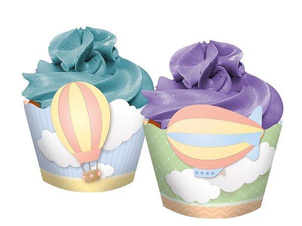 Forminha para Cupcake Nuvem - 16 und