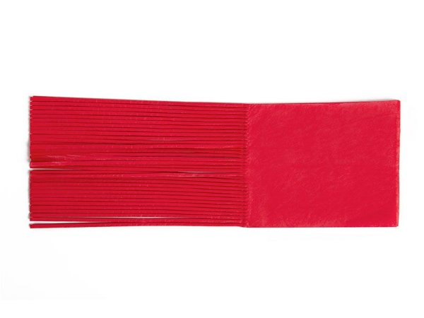 Papel de Bala - vermelho - 48 unidades