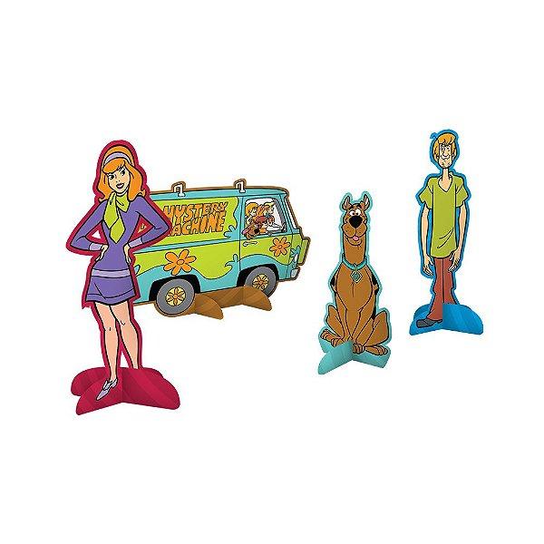 Decoração de Mesa - Scooby Doo - 08 unidades