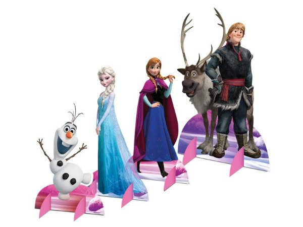 Decoração de Mesa - Frozen - 08 Unidades