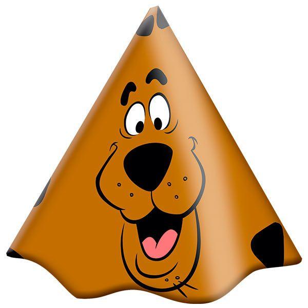 a95214675c590 Chapéu de Aniversário Scooby Doo- 08 unidades - Festas Mix - Nossa ...