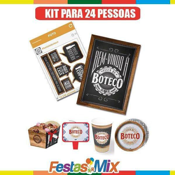 Kit Festa Boteco - 24 pessoas
