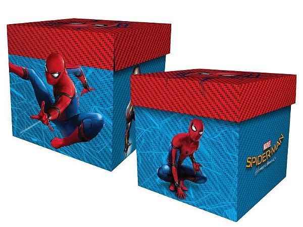 Caixa Surpresa - Homem Aranha Home - 08 unidades