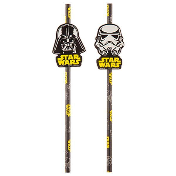 Canudo de Papel - Star Wars Clássico - 08 unidades