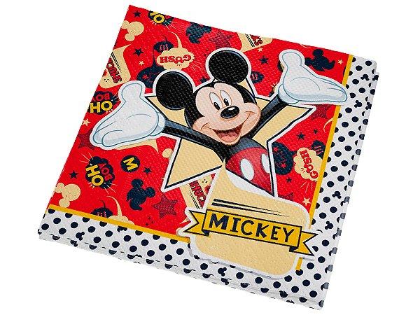 Guardanapo de Papel - 20 und -  Mickey Clássico