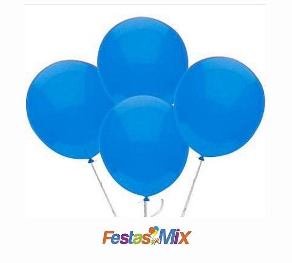 Balão n° 9 Polegadas- Azul Claro- 50 und