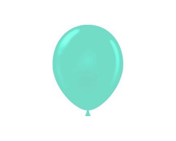 Balão N° 9 Polegadas - Verde Claro - 50 und