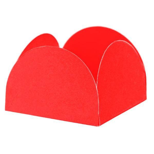 Porta Forminha para doces - Vermelho - 40 unidades