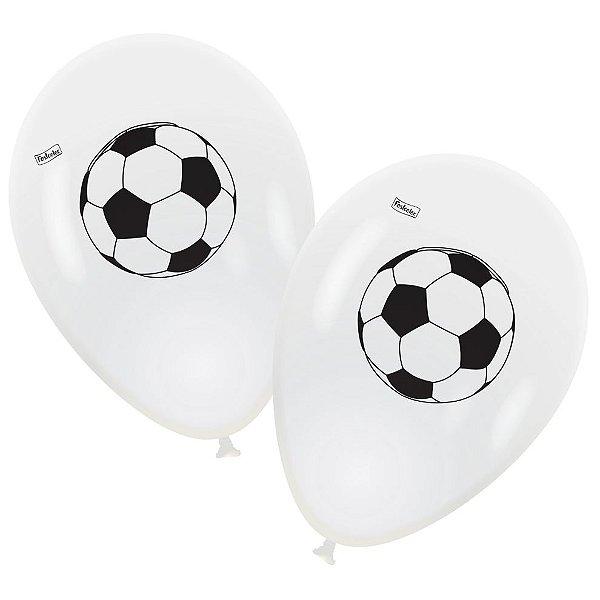Balão n° 9 Polegadas- Apaixonado por Futebol - 25 und