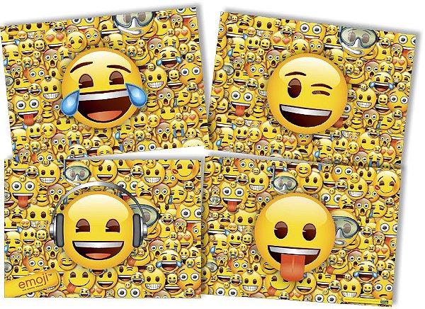 Painel 4 Folhas - Emoji