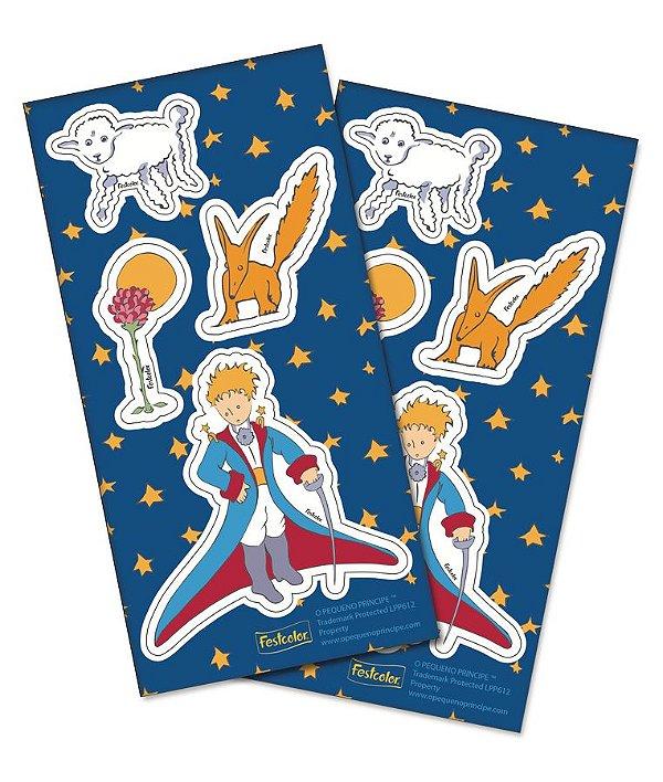 Adesivo Especial - O Pequeno Príncipe - 04 cartelas