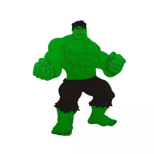 Decoração de Mesa EVA - Hulk