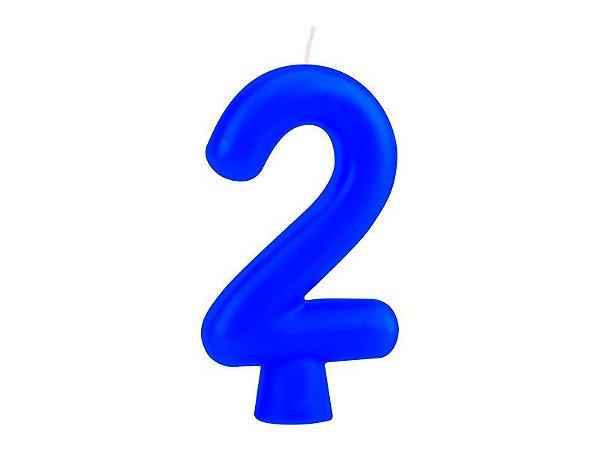 Vela Solid Colors - Azul - Nº 2