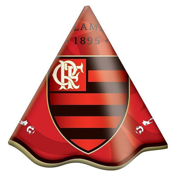 Chapéu de Aniversário - Flamengo - 08 unidades