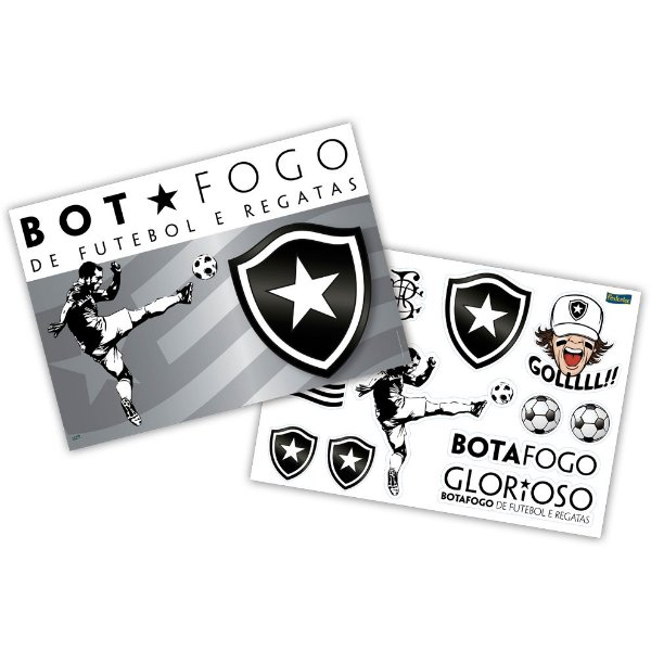 Kit Decorativo - Botafogo