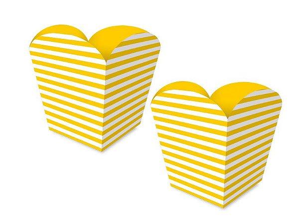 Cachepot Pequeno - Festa Colors Amarelo - 08 unidades