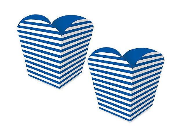 Cachepot Pequeno - Festa Colors Azul - 08 unidades