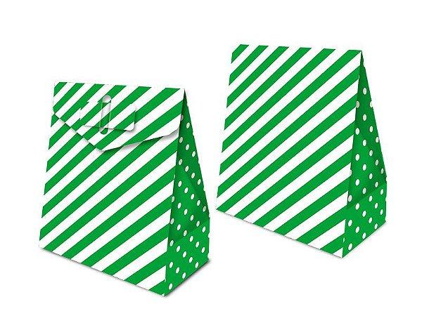 Caixa Surpresa - Festa Colors Verde - 08 unidades