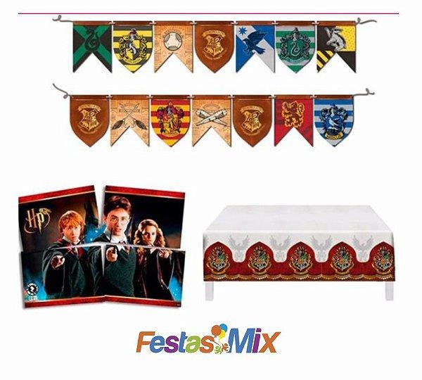 Kit Decoração de Festa - Harry Potter