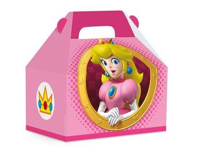 Caixa Surpresa Maleta Peach- Super Mario Bros - 10 unidades