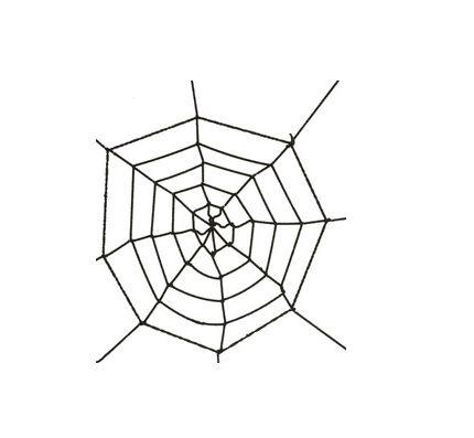 Teia de Aranha - Preta