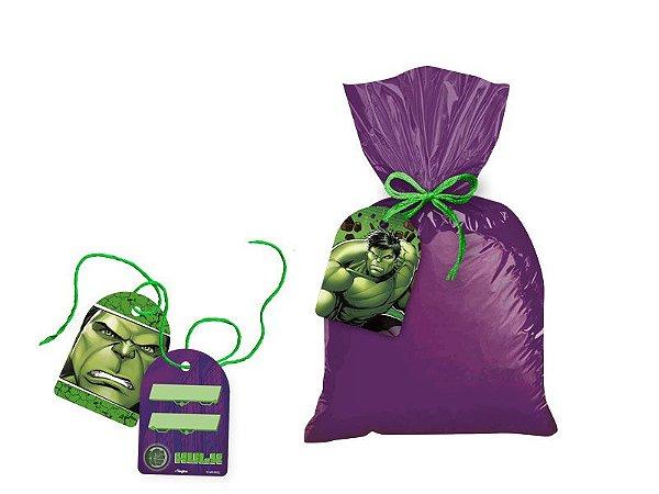 Tag com Cordão - Hulk Animação - 08 unidades