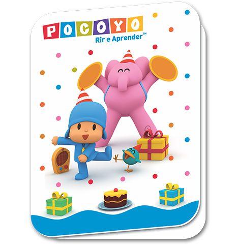 Convite - Pocoyo - 08 unidades
