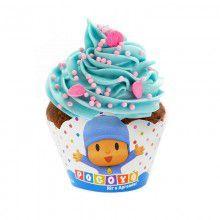 Cupcake Wrapper - Pocoyo - 08 unidades