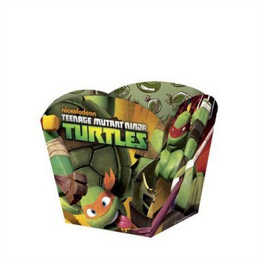 Kit Cachepot Pequeno - Tartarugas Ninjas - 03 pacotes