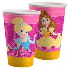 Kit Copos de Papel 180ml - Princesinhas Disney - 02 pacotes