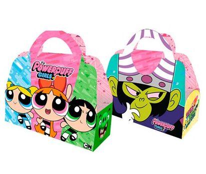 Kit Caixa Surpresa - Meninas Super Poderosas - 02 pacotes