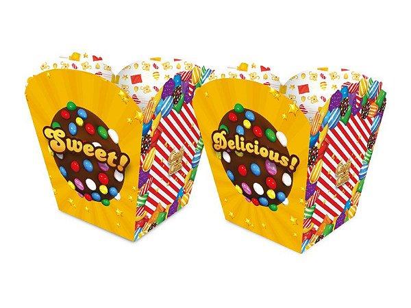 Kit Cachepot - Candy Crush - 02 pacotes