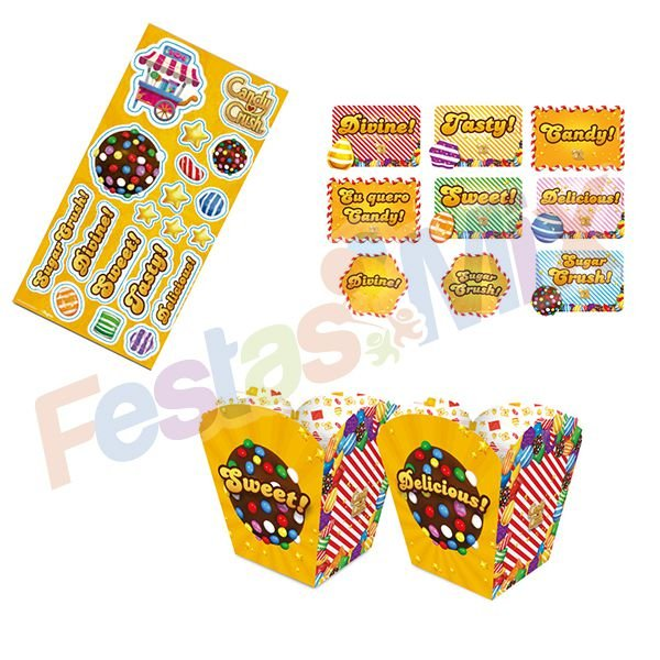 Kit Festa - Candy Crush