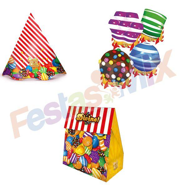 Kit Festa - Candy Crush