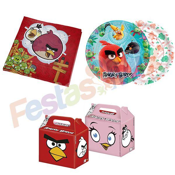 Kit Festa infantil - Angry Birds