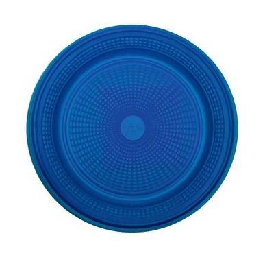 Prato Descartável - Azul Escuro - 10 unidades