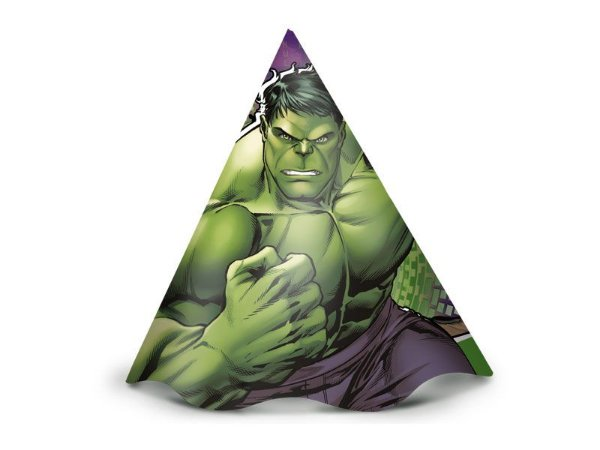 Chapéu - Hulk Animação - 08 unidades