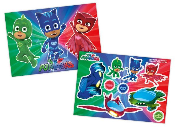 Kit Decorativo - Pj Masks